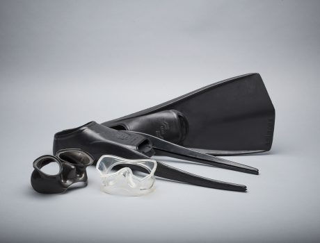 Fins, masks, full face masks and more scuba rubber and silicone articles
